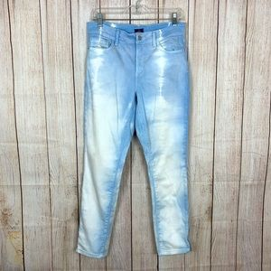 NYDJ Not Your Daughters Jeans Ankle Blue Bleached